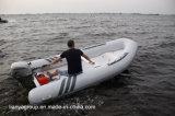 Liya 3.3-4.2m barco inflável rígida com motor de popa barcos costelas