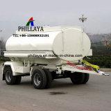 El carro de la barra de tiro de remolque de tractor camión cisterna de combustible de aceite completo tráiler