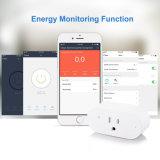 16A Mini compatible Wi-Fi Smart Plug Commande à distance avec minuterie