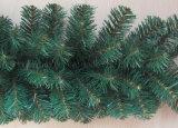 Guirnalda verde de la Navidad del Pre-Lit para la decoración del sitio