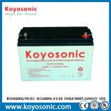 batterie solaire scellée par 90ah de la batterie d'accumulateurs de la batterie 12V d'acide de plomb AGM