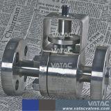 Vatac API/DIN ha forgiato la valvola della sfera d'acciaio