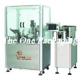 Macchina di riempimento e di coperchiamento profumo/della lozione/macchina di rifornimento liquida