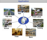 Zoom óptico 10X Onvif Pan Bullet 4MP cámara IP de alta definición (PTBK)