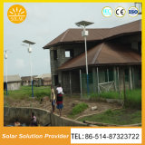 O diodo emissor de luz solar do poder superior ilumina a iluminação de rua solar 7m8m9m
