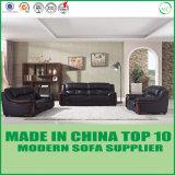 Modernes Büro-Möbel hölzernes ledernes Loveseat Sofa 1+2+3