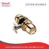 두 배는 알루미늄 문 회전 손잡이 자물쇠 문 손잡이 손잡이 화장실 목욕탕 편들었다