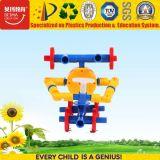 Construção de materiais de construção de plástico de boca Building Block Robô brinquedo para crianças