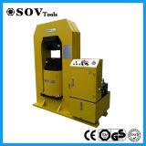máquina estampando hidráulica 500t da corda de fio de aço de 7-40mm