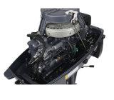 2 Gloednieuwe Motor van de Vervaardiging van de Schacht van de Buitenboordmotor van de slag 9.8HP de Lange voor Marine