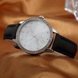 Het Horloge van de toevallige OEM van het Horloge ODM Dames van de Riem van het Leer (wy-054E)