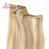 Clip nell'estensione cambogiana naturale dei capelli umani di Remy del Virgin dei capelli