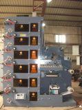 Machine d'impression flexo Zb-6 de couleur pour l'étiquette adhésive Film PVC