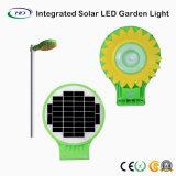5W Luz Jardim solar integrada com sensor de movimento (Girassol)