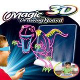 3D-многофункциональная вспышка трехмерных Magic магнитных чертеж игрушка для системной платы