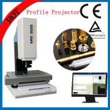 Projetor de perfil ótico da tela horizontal