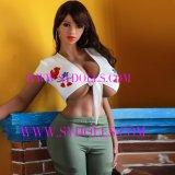 Muñeca de Sy171cm, muñecas realistas del sexo del pelo púbico del asno gordo grande por encargo del botín