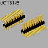 90 cabecera recta del PWB del Pin de la echada del grado 1.27m m