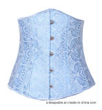 Mujeres más el corsé deshuesado un cordón más pechugón de entrenamiento de Clubwear de la cintura de la talla