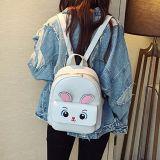 Support mignon de l'impression Backpack+Crossbody Bags+Handbag+Card du lapin des femmes