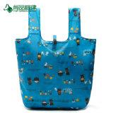 Мешок хозяйственной сумки/Tote изготовленный на заказ хозяйственных сумок мешка перемещения печатание Nylon портативный складывая
