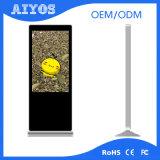 """1つの無線LCD 3G WiFiの床の立場のデジタル表記のキオスクの7 """" - 65 """"すべて"""