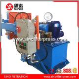 Presse hydraulique antiexplosion de filtre à plaque du manuel pp