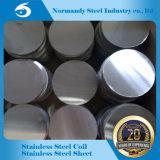 ASTM laminato a freddo il cerchio dell'acciaio inossidabile 410 con buona qualità