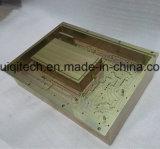 CNC обработки обработанной фрезерования алюминиевый корпус гнездовой части