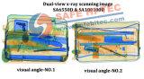 두 배 엑스레이 발전기 엑스레이 짐 검사 스캐닝 기계 SA6550D (안전한 HI-TEC)