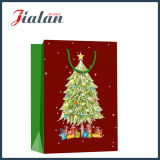 Presentes por atacado do Natal da promoção que embalam o saco de papel do portador da compra