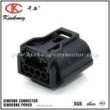 Connecteur électrique automatique femelle noir imperméable à l'eau de câblage de Pin de Kinkong 4