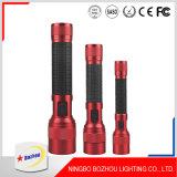 토치 가벼운 LED 플래쉬 등, 알루미늄 빨강 LED 플래쉬 등
