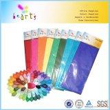El color de cometas de papel para envolver