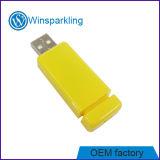 Bastone scorrevole di plastica su ordinazione di memoria Flash del USB del campione libero di marchio
