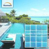 Синий цвет - плавательный бассейн стеклянной мозаики плитки