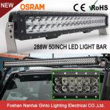 Het overweldigen van LEIDENE van de Duidelijkheid 50inch 288W Osram Lichte Staaf voor Jeep (GT3106-288W)