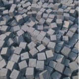 de Straatsteen van de Steen van de Rand van de Steen van de Kubus van het Graniet van 10*10cm