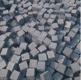 pavé en pierre de bord de pierre de cube en granit de 10*10cm
