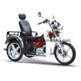 中国110ccの障害がある無効三輪車、乗客のための3つの車輪のオートバイ