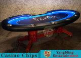 Ранга казина 110 дюймов таблица покера Техас Holdem люкс профессиональная с игроком 10 поставкы фабрики (YM-BA11-3)