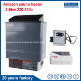 20 años del fabricante 3kw de calentador eléctrico de la sauna con el regulador de Digitaces