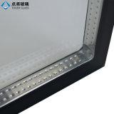 China proveedor hueco transparente el vidrio templado para muro cortina
