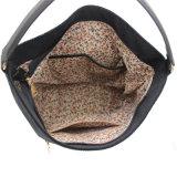 Señora de cuero Handbag de la PU de la impresión del bolso de la flor del bolso del bordado