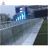 Barreras plegables de aluminio del Portable del concierto del control de muchedumbre de la alta calidad