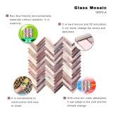Mattonelle di mosaico decorative di vetro macchiato per la casa