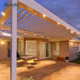 Chino de lujo de persiana de aluminio Roof Garden Pavilion pérgola