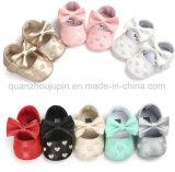 Semelles PU OEM Mignon Soft Toddler Prewalker Chaussures de bébé