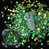 21082 unregelmäßiger Nagel-Kunst-Dekoration-Glasregenschirm geformte Funkeln-Flocken