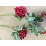Reale Noten-Silk Rosen-künstliche Blumen für Haupthochzeits-Dekoration